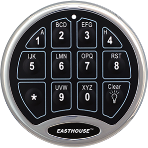 SafeLogic BackLit-EC-0601A-BL-Chrome-EASTHOUSE
